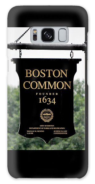 Boston Common Ma Galaxy Case