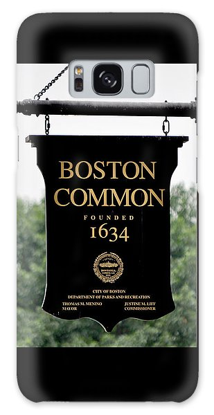 Boston Common Ma Galaxy Case