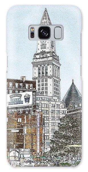Boston Custom House Tower Galaxy Case