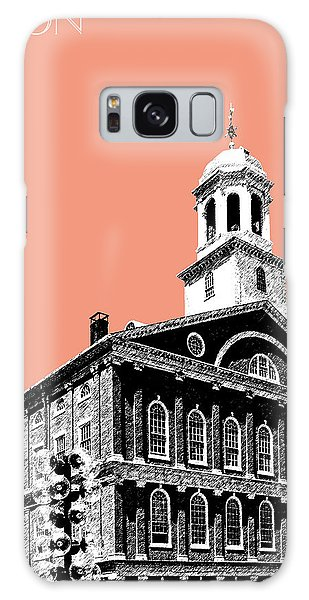 Boston Faneuil Hall - Salmon Galaxy Case