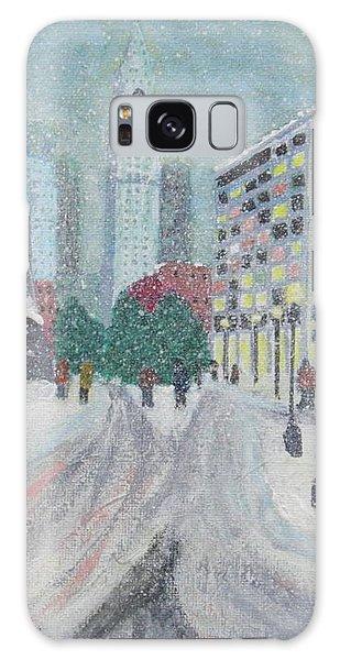 Boston First Snow Galaxy Case