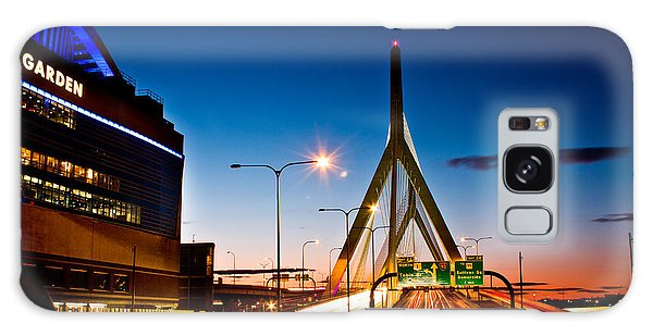 Boston Garden And Bunker Hill Bridge  Galaxy Case