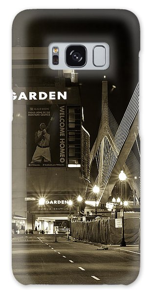 Boston Garder And Side Street Galaxy Case by John McGraw