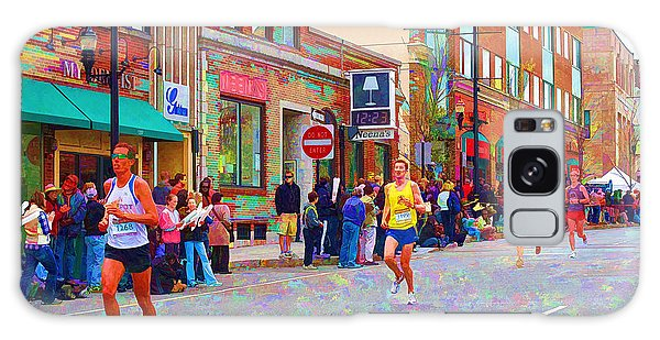 Boston Marathon Mile Twenty Two Galaxy Case