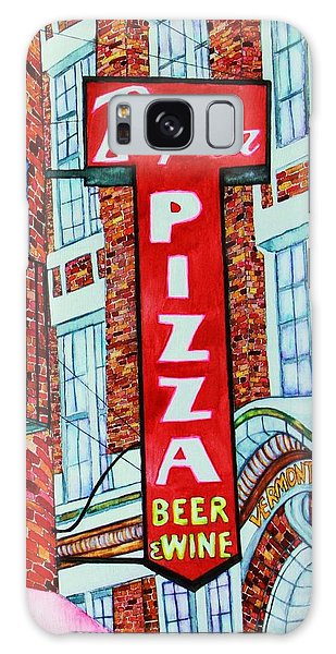 Boston Pizzeria  Galaxy Case