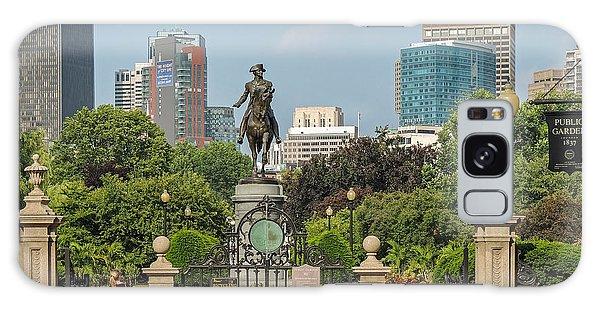 Boston Public Garden Galaxy Case