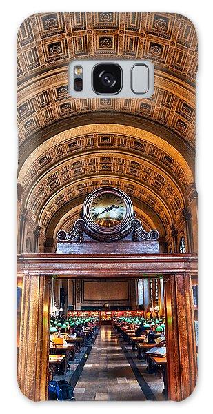 Boston Public Library Galaxy Case by Mitch Cat