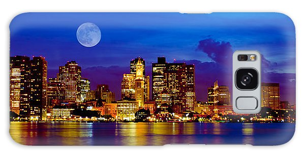 Boston Skyline Galaxy Case