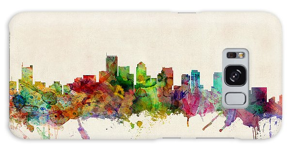 Poster Galaxy Case - Boston Skyline by Michael Tompsett