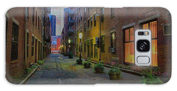 Boston Street Galaxy Case by John Hoey
