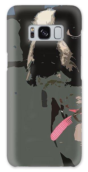 Boston Terrier Art01 Galaxy Case