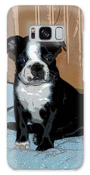 Boston Terrier Art02 Galaxy Case