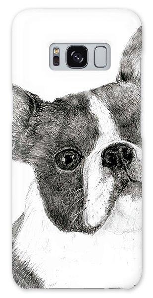 Boston Terrier Galaxy Case by Jim Hubbard