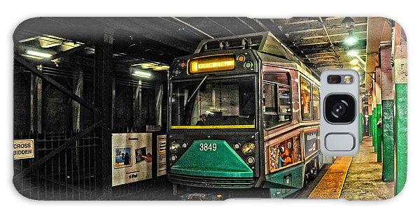 Boston's Mbta Green Line Galaxy Case
