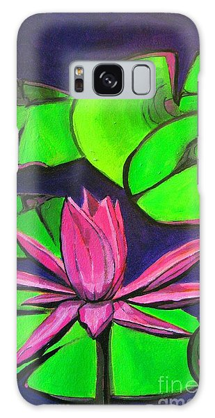 Botanical Lotus 1 Galaxy Case