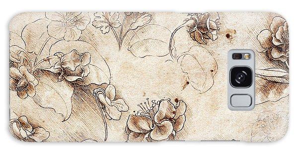Decorative Galaxy Case - Botanical Table by Leonardo Da Vinci