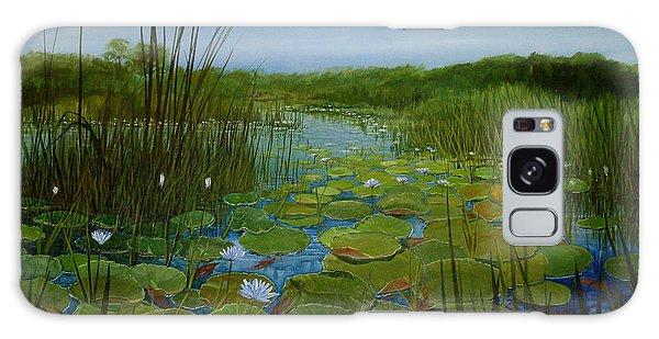 Botswana Lagoon Galaxy Case
