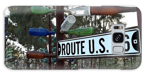 66 Galaxy Case - Bottle Trees Route 66 by Glenn McCarthy Art and Photography