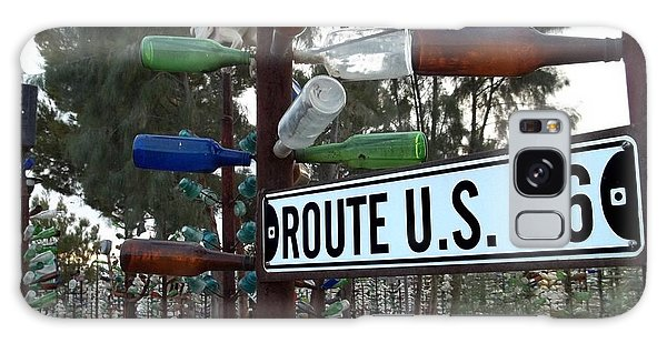 Bottle Trees Route 66 Galaxy Case by Glenn McCarthy Art and Photography