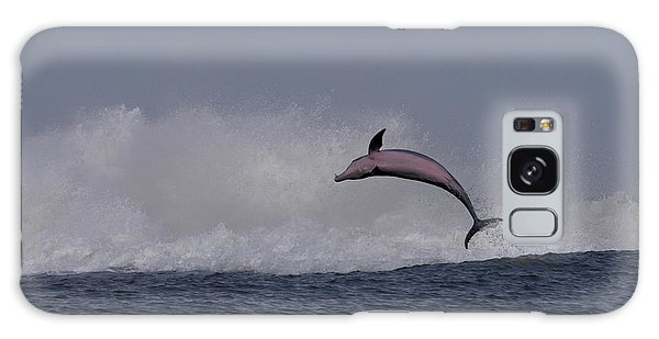 Bottlenose Dolphin Photo Galaxy Case by Meg Rousher