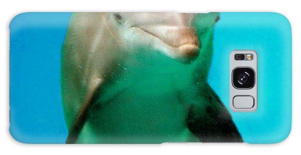 Bottlenose Dolphin Portrait Galaxy Case