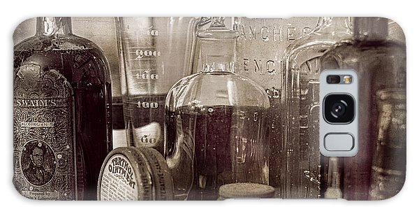 Bottles And Tins Galaxy Case by Wayne Meyer