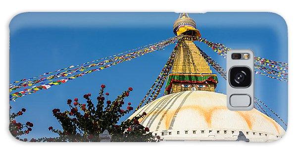 Boudhanath Stupa Galaxy Case