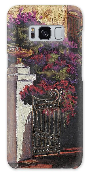 Bougainvillea Galaxy Case