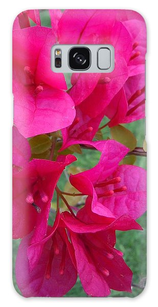 Bougainvillea Dream #2 Galaxy Case