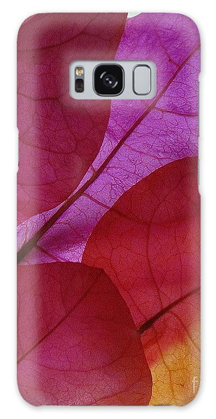 Bougainvillea Galaxy Case by Ranjini Kandasamy