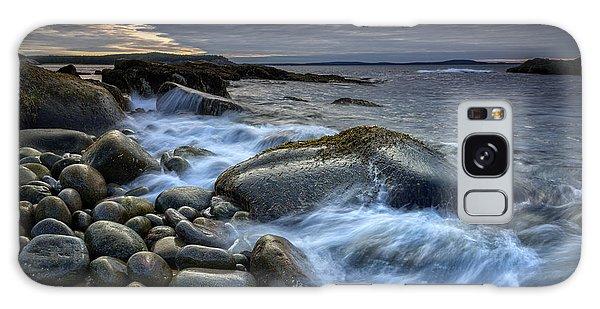 Otter Rock Galaxy Case - Boulder Beach Dawn by Rick Berk