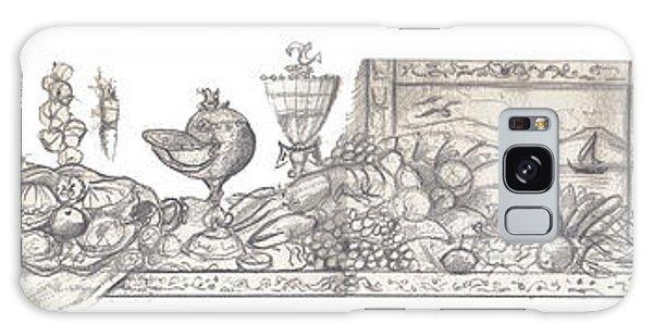 Bounties Of The Sea Galaxy Case by John Keaton