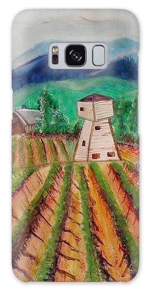 Bountiful Harvest Galaxy Case by Carol Duarte