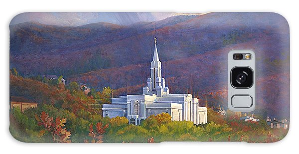 Bountiful Temple In The Mountains Galaxy Case