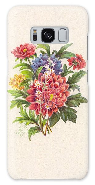 Bouquet 2 Galaxy Case by Ruth Seal