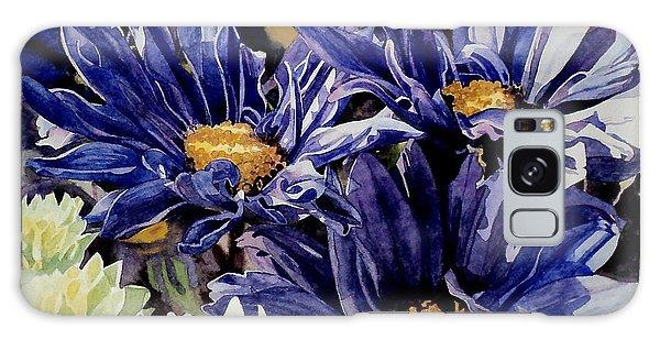 Bouquet Blues Galaxy Case