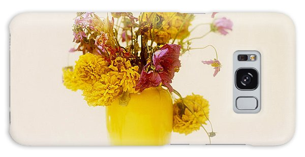 Vase Of Flowers Galaxy Case - Bouquet Of Flowers by Bernard Jaubert