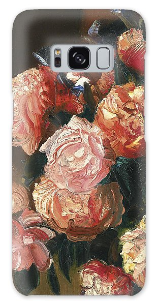 Russian Impressionism Galaxy Case - Bouquet Of Flowers by Celestial Images