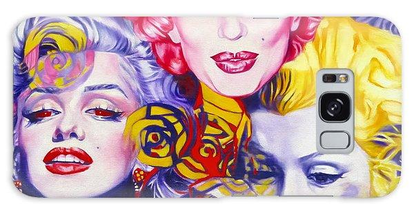 Bouquet Of Marilyn Galaxy Case