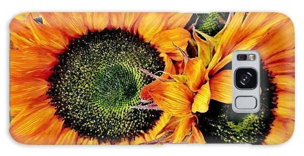 Bouquet Of Sunflowers Galaxy Case