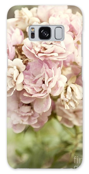 Beautiful Galaxy Case - Bouquet Of Vintage Roses by Juli Scalzi