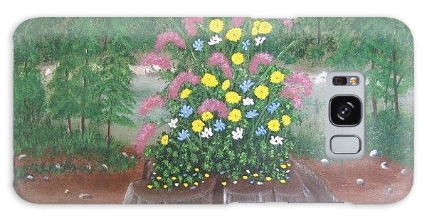 Bouquet On A Stump Galaxy Case