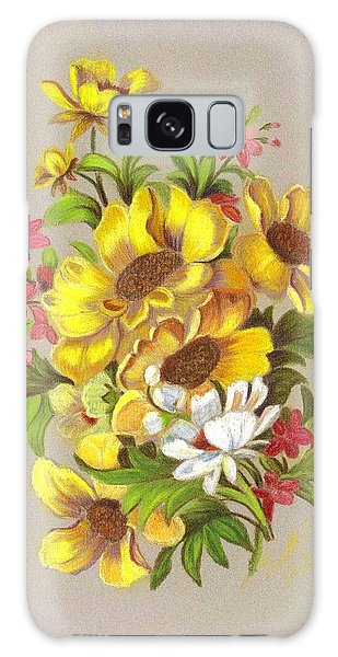 Bouquet  Galaxy Case by Ruth Seal