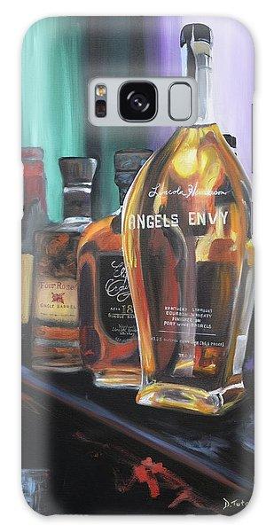 Bourbon Bar Oil Painting Galaxy Case