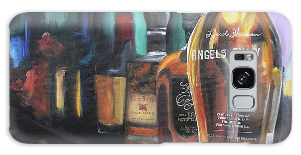 Bourbon Bar Oil Painting Galaxy Case