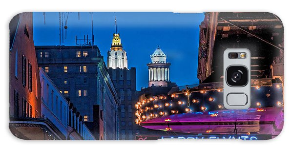 Bourbon Street And Cbd Lights  Galaxy Case