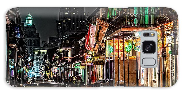 Bourbon Street Glow Galaxy Case by Andy Crawford