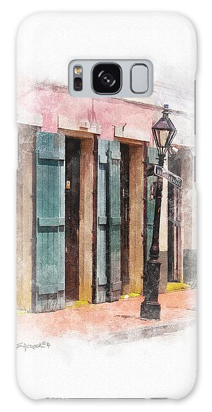 Bourbon Street Lamp Post Galaxy Case