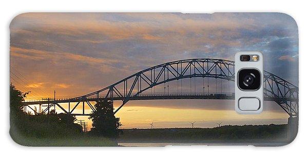 Bourne Bridge Sunrise Galaxy Case