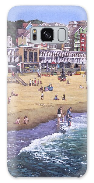 Bournemouth Boscombe Beach Sea Front Galaxy Case